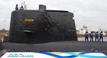 アルゼンチン海軍:潜水艦「サン...